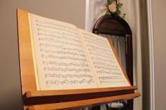 音楽や楽譜とのふれあい